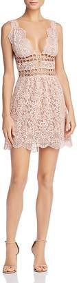For Love & Lemons Mon Cheri Lace Mini Dress - 100% Exclusive