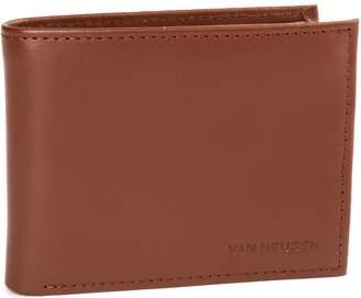 Van Heusen Men's RFID-Blocking Leather Passcase Wallet