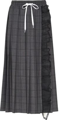 Miu Miu Prince of Wales checked skirt