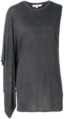 IRO asymmetric sleeveless top