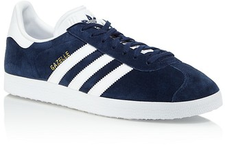 Adidas Men's Gazelle Lace Up Sneakers $80 thestylecure.com