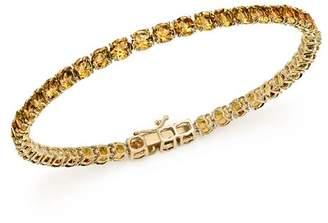 Bloomingdale's Citrine Tennis Bracelet in 14K Yellow Gold - 100% Exclusive