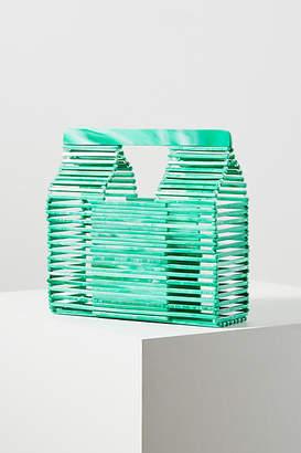 Anthropologie Jamie Acrylic Basket Bag