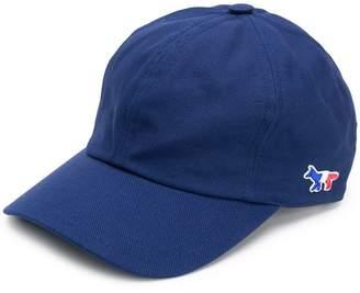 MAISON KITSUNÉ Tricolour Fox cap