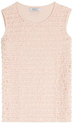 Bailey 44 Sleeveless Top with Lace