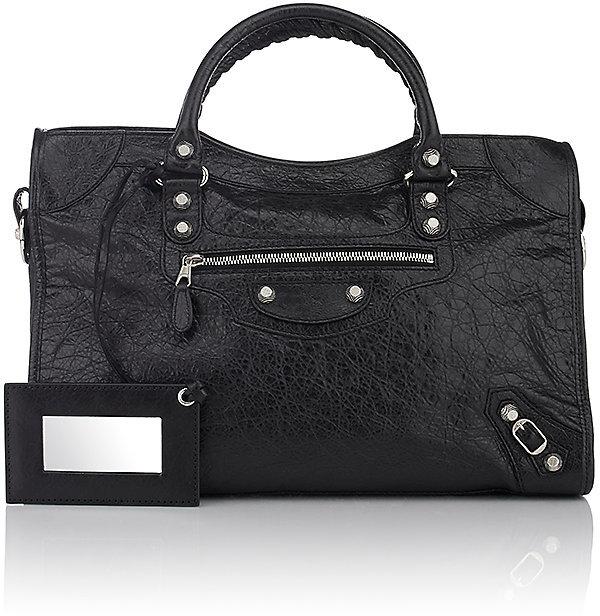 Balenciaga Women's Arena Leather Giant City Bag