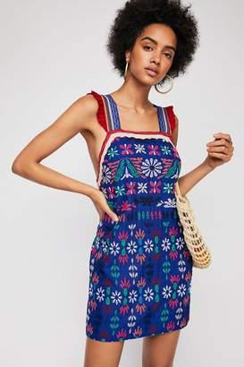 Cozumel Embroidered Mini Dress