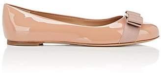 Salvatore Ferragamo Women's Varina Patent Leather Flats - Pink