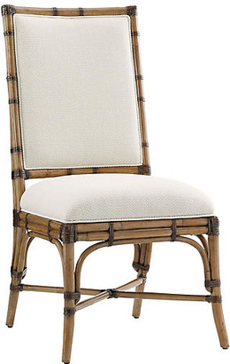 Tommy Bahama Summer Isle Side Chair - Soft Taupe