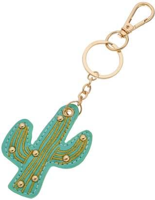 Lauren Conrad Faux Leather Cactus Key Chain