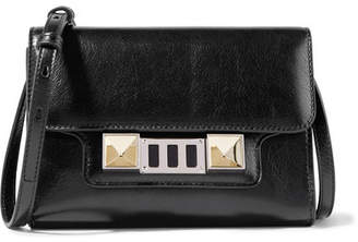 Proenza Schouler Ps11 Mini Leather Shoulder Bag - Black