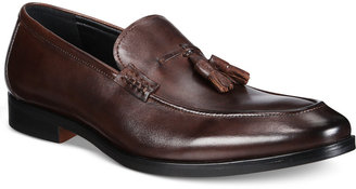 Alfani Men's Declan Leather Tassel Loafers, Only at Macy's $99.99 thestylecure.com