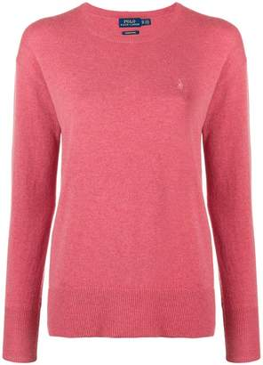 Polo Ralph Lauren classic logo fitted sweater