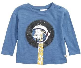 Rosie Pope Giraffe in Space Graphic T-Shirt (Baby Boys)