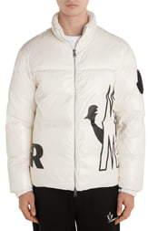 Moncler Friesian Logo Down Puffer Jacket