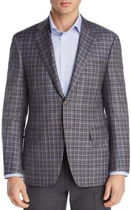 Canali Plaid Siena Regular Fit Sport Coat