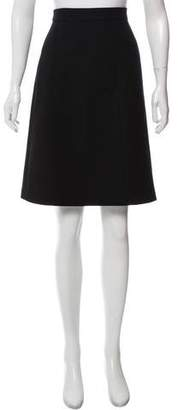 Louis Vuitton Tight Knee-Length Skirt