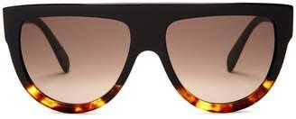 Celine Aviator D-frame acetate sunglasses