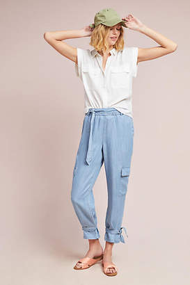 Plenty by Tracy Reese Ankle-Tied Utility Pants