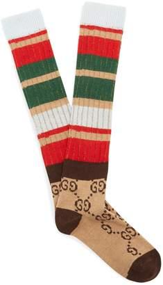 Gucci GG knit socks
