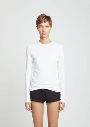 Skin Pima Cotton Long Sleeve Tee