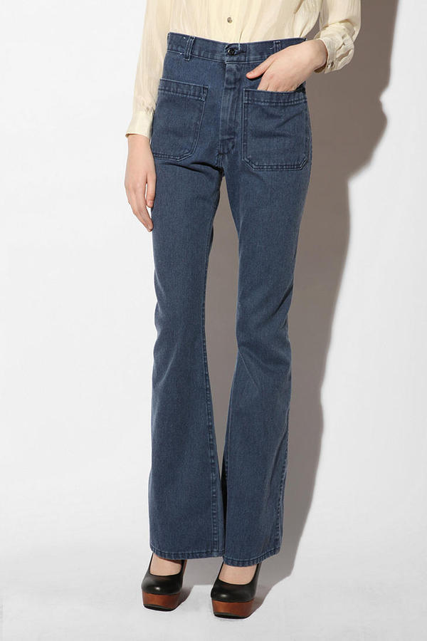 Urban Outfitters Urban Renewal Vintage Naval Flare Jean
