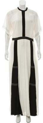 Burberry Silk Maxi Dress
