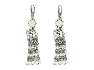 Marchesa Lighter Than Air Tassel Linear Earrings