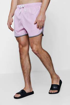 boohoo Runner Swim Shorts With Sports Trim