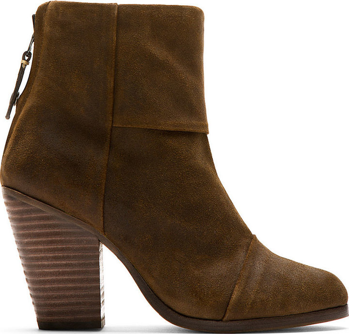 Rag and Bone Rag & Bone Brown Suede Classic Newbury Boots