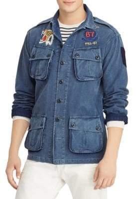 Polo Ralph Lauren Classic-Fit Banyon-Lined Denim Jacket
