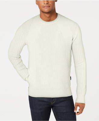 Sean John Men Moto Rib Sweater