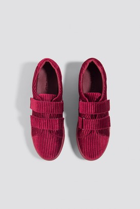 Na Kd Shoes Corduroy Sneakers Burgundy
