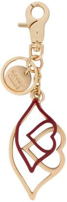 See by Chloe heart lips keyring