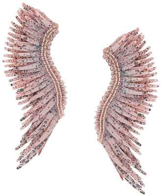 Mignonne Gavigan long wings beaded earrings