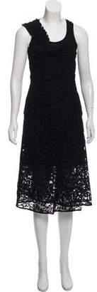 Thakoon Sleeveless Lace Midi Dress