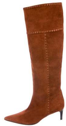 Bottega Veneta Suede Knee-High Boots