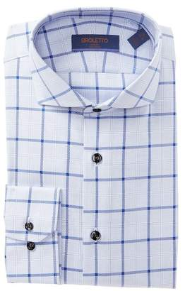 BROLETTO Check Traditional Fit Dress Shirt