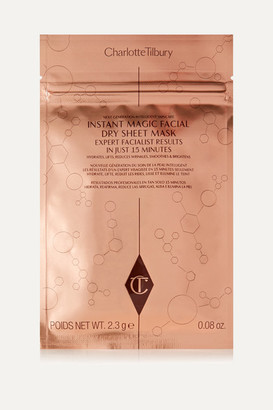 Charlotte Tilbury Instant Magic Facial Dry Sheet Mask X 4 - Colorless