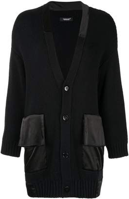 Undercover oversized black cardigan