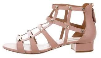 Valentino Rockstud Cage Sandals