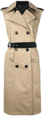 Barbara Bui sleeveless trench coat