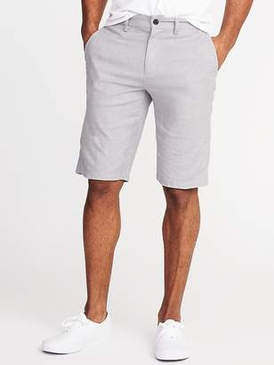 Old Navy Slim Ultimate Built-In Flex Linen-Blend Shorts for Men - 10-inch inseam