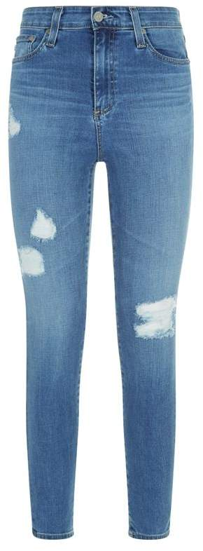 Mila Ankle Distressed Jeans