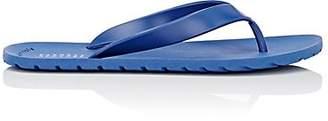 Barneys New York MEN'S RUBBER FLIP-FLOPS - BLUE SIZE 7 M