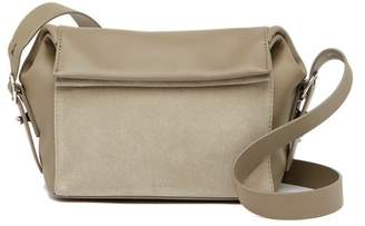 AllSaints Maya Leather & Suede Crossbody