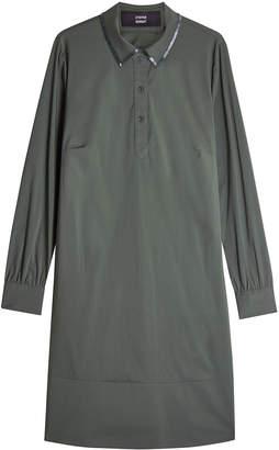 Steffen Schraut Dress with Embellished Collar