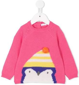 Il Gufo penguin sweater