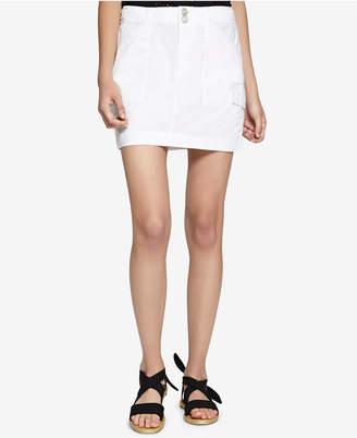 Sanctuary Forward March Cotton Utility Skirt