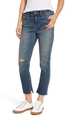 Women's Treasure & Bond High Waist Skinny Crop Jeans $89 thestylecure.com